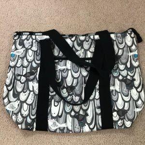Lesportsac zippered tote bag